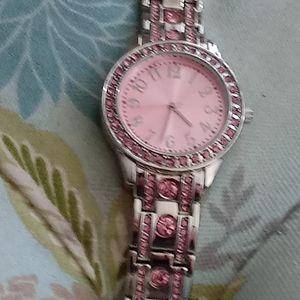 Accessories - Pink watch
